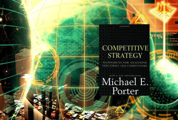 Michael porter product bookshelf for Porter 5 forces book